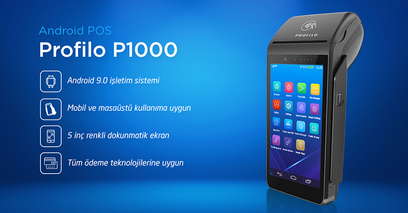 Profilo AndroidPOS P1000