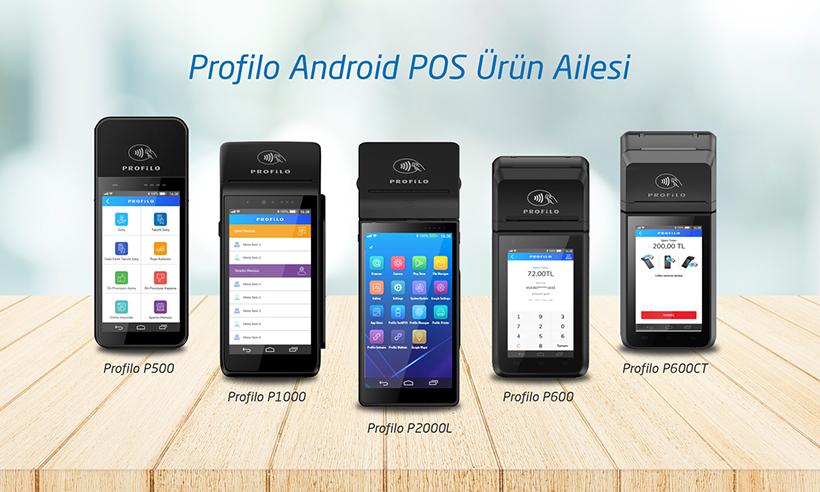 Profilo AndroidPOS Ürün Ailesi